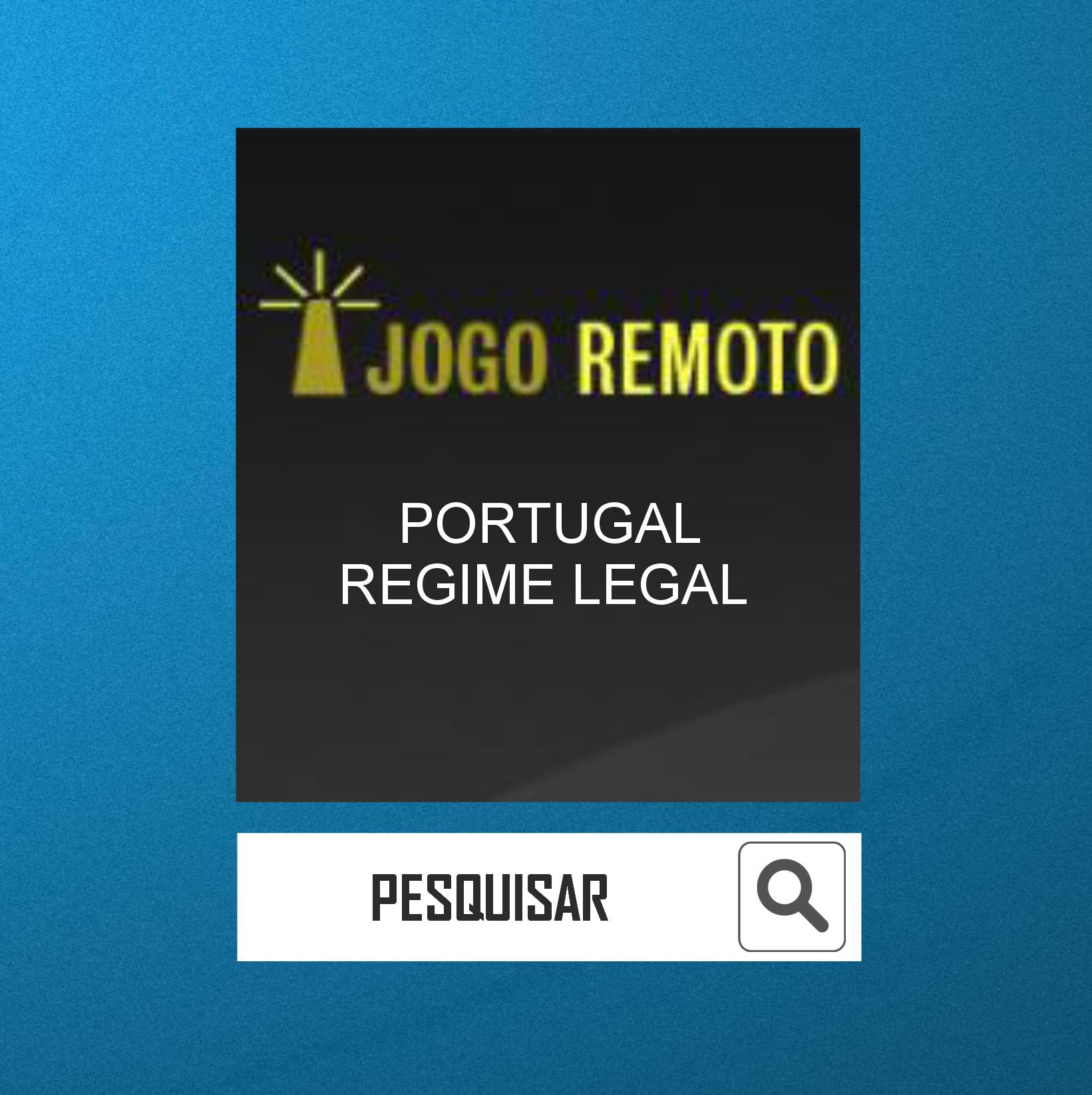 0 PORTUGAL - REGIME LEGAL