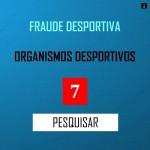 PESQUISA MERCADO - FRAUDE DESPORTIVA. ORGANISMOS DESPORTIVOS