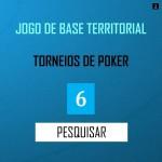 PESQUISA MERCADO - JOGO DE BASE TERRITORIAL TORNEIOS DE POKER...