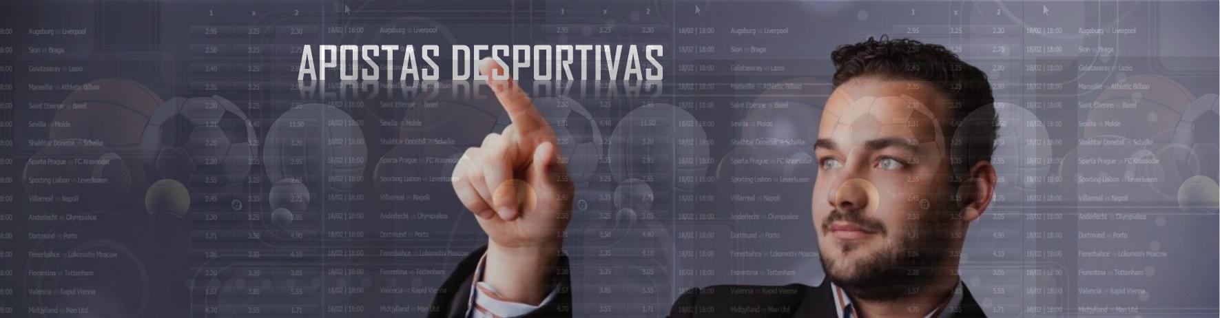 APOSTAS DESPORTIVAS...