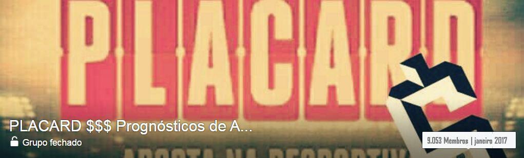 PLACARD $$$ Prognósticos de Apostas Desportivas