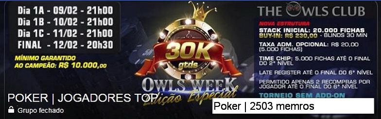 POKER - JOGADORES TOP